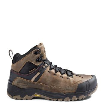 Men's Kodiak Quest Bound Mid Waterproof Composite Toe Hiker Work Boot - Fossil