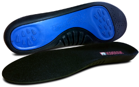 Side view of insoles